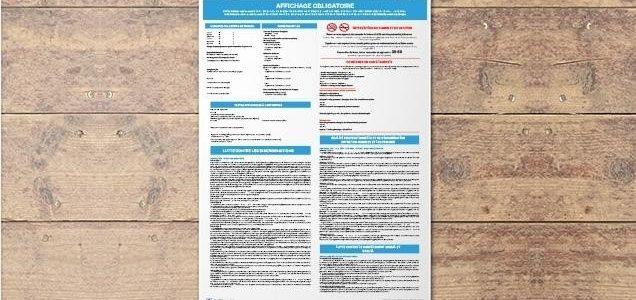 Affichages Obligatoires en 2019 : la liste des panneaux obligatoires