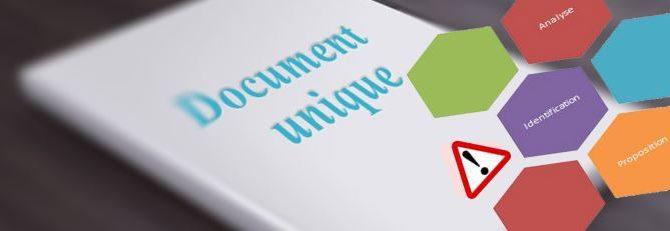Document Unique d'Evaluation des Risques et assurance des risques professionnels